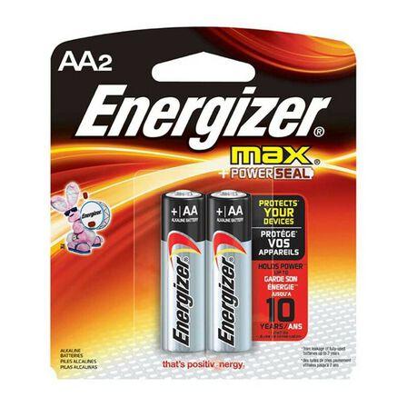 ENERGIZER - Energizer Alkaline Max Aa 15V Pack of 2