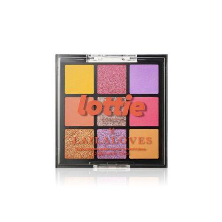 LOTTIE - Lottie Laila Loves Palette Neon 9 Shade E/S Palette Ibiza Yellow & Pink