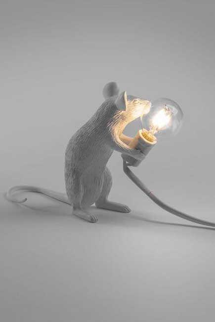 Seletti - Mouse Lamp White Mac