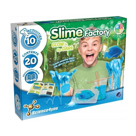 SCIENCE 4 YOU - Science 4 You Slime Factory Glow In The Dark