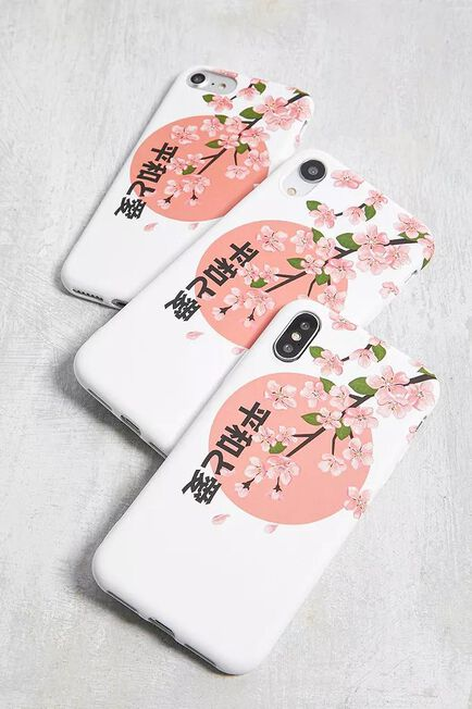 Urban Outfitters - Assorted Cherry Blossom IPhone 6/6S/7/8 Case