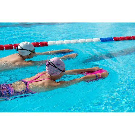 NABAIJI - 500 silicone swim cap white