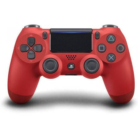Sony - Sony Dualshock 4 V2 Magma Red Controller PS4