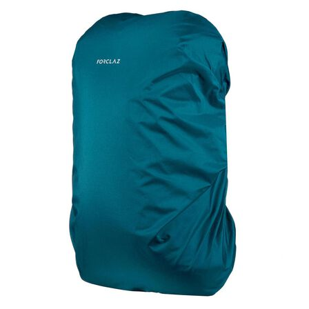 FORCLAZ - 40 To 60L Rain And Airplane Cover - Travel - Rucksacks From - Dark Petrol Blue
