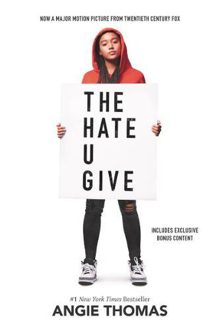 HARPER COLLINS USA - The Hate U Give Movie Tie-In Edition