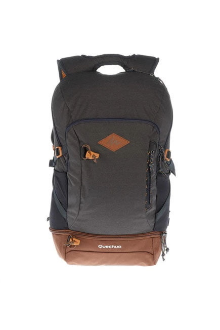 QUECHUA - Unique Size  Country Walking Backpack - NH500 30 Litres, Dark Grey