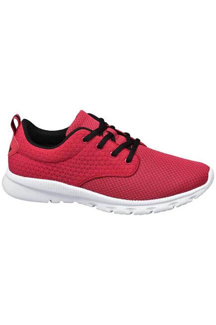 Victory - Red Comfortable Running Sneakers, Men