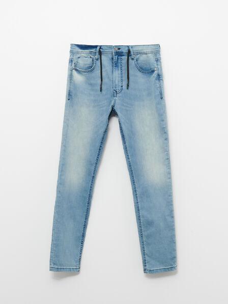 Reserved - Blue Wash Effect Jeans, Men