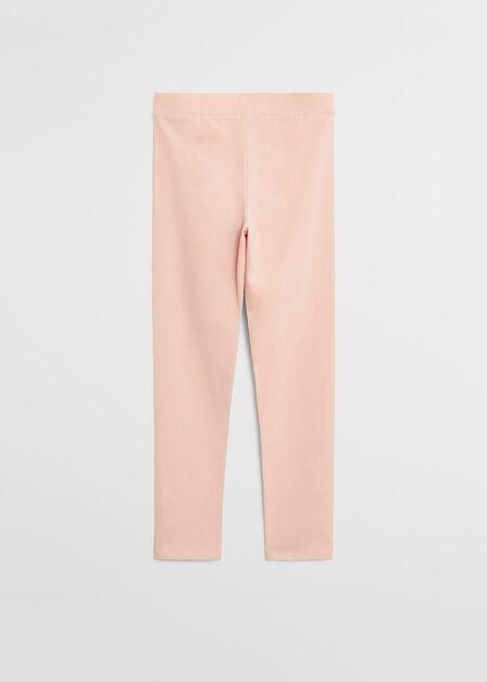 Mango - lt-pastel pink Organic cotton leggings