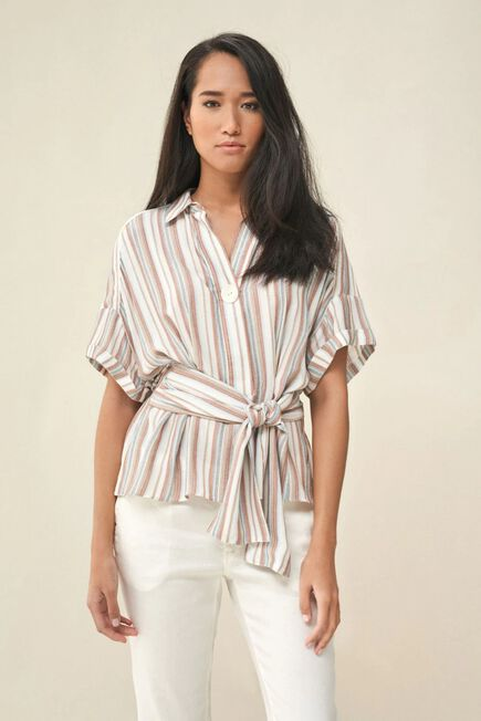 Salsa Jeans - Pink Tunic with belt