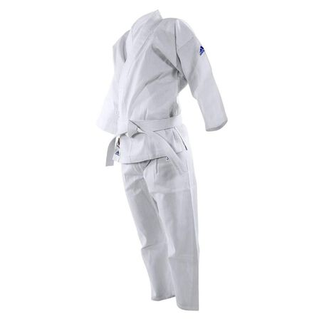 ADIDAS - 130 cm  Kids' 2-in-1 Size K200 E Karate Uniform, Default