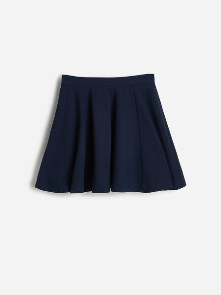 Reserved - Navy Flared Mini Skirt, Kids Girl