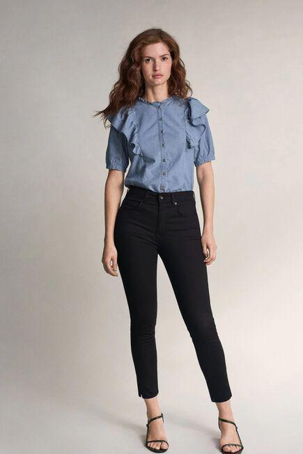 Salsa Jeans - Black Black Secret Glamour capri