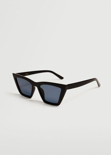 Mango - black Cat-eye sunglasses, Women