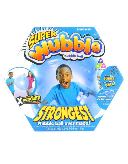 SUPER WUBBLE - Super Wubble Ball with Pump Blue