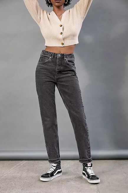 Urban Outfitters - Black BDG Recycled Cotton Mom Jeans