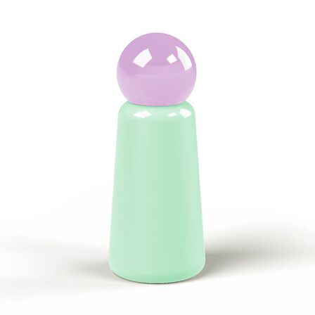 LUND LONDON - Lund Skittle Bottle Mini Mint with Lilac Lid 300 ml