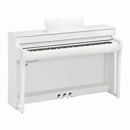 YAMAHA - Yamaha CLP-735 Digital Piano with Bench White