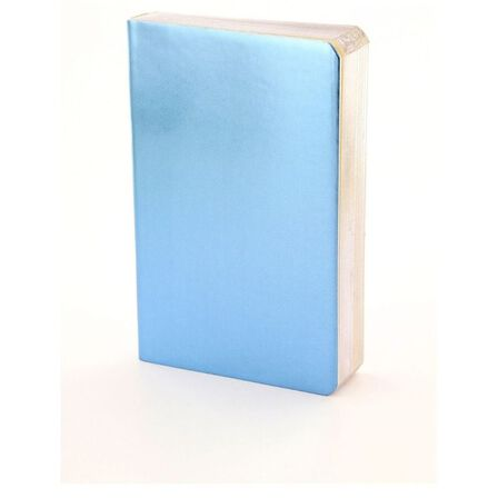 ICE LONDON - Ice London Metallic Notebook Light Blue