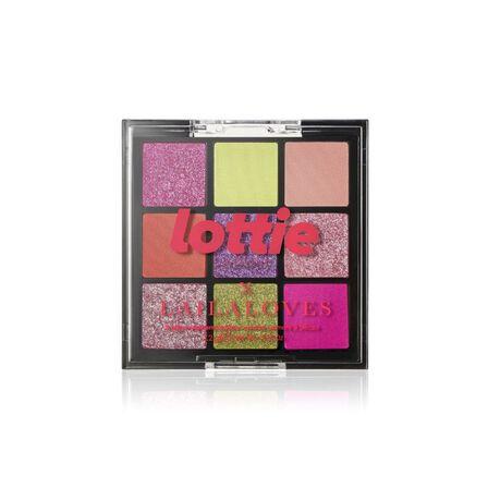 LOTTIE - Lottie Laila Loves Palette Neon 9 Shade E/S Palette Miami Pinks & Greens