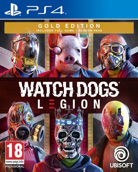 UBISOFT - Watch Dogs Legion - Gold Edition - PS4
