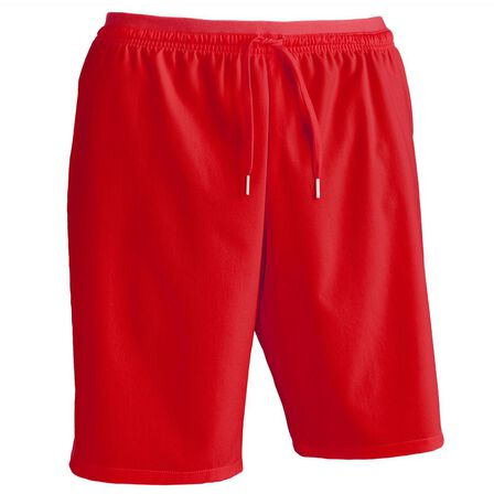 KIPSTA - Large  F500 Adult Football Shorts, Scarlet Red
