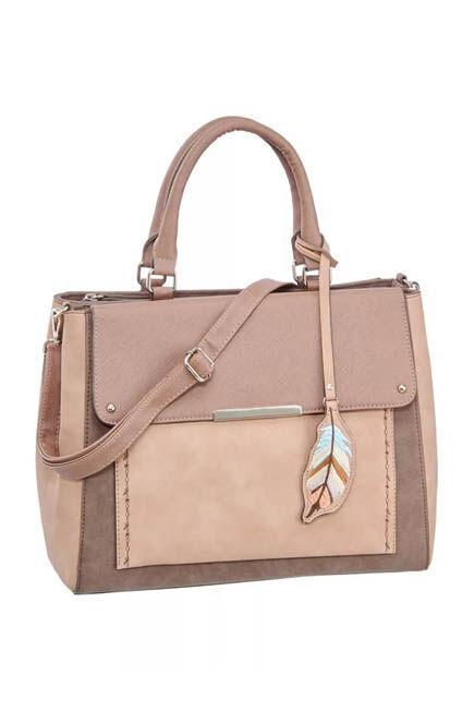 CTW - Pink Taupe Shoulder Bag, Women