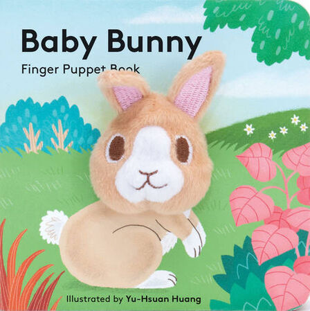 CHRONICLE BOOKS LLC USA - Baby Bunny Finger Puppet Book