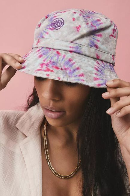 Urban Outfitters - Assorted UO Bubble Logo Tie-Dye Canvas Bucket Hat
