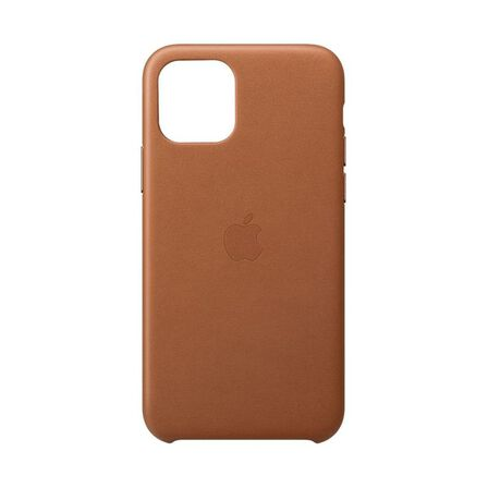 APPLE - Apple Leather Case Saddle Brown for iPhone 11 Pro