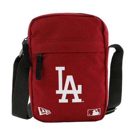 NEW ERA - New Era MLB LA Dodgers Side Backpack Dark Red