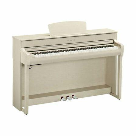 YAMAHA - Yamaha CLP-735 Digital Piano with Bench White Ash