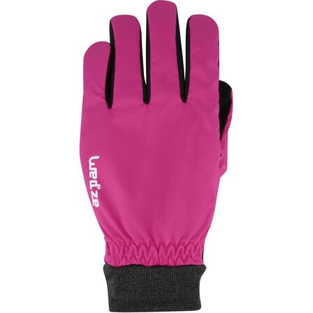 WEDZE - Small  WARM FIT ADULT DOWNHILL SKIING GLOVES, Fuchsia