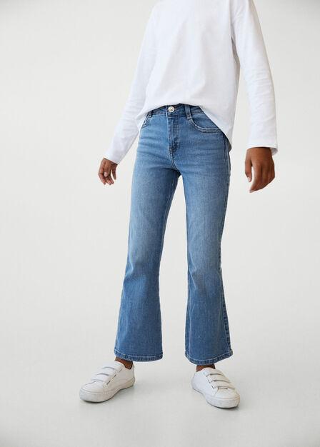 Mango - open blue Flared jeans