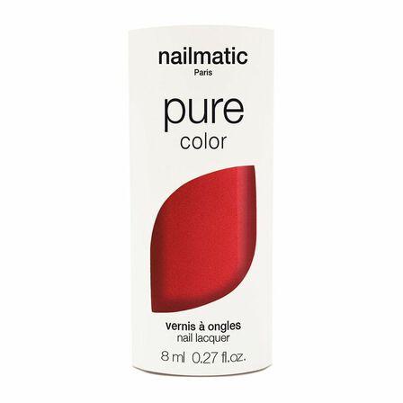 NAILMATIC - Nailmatic Pure Amour Nail Polish Red Shimmer