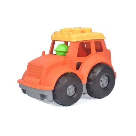 ROLL UP KIDS - Roll Up Kids Eco Friendly Dumper 2 Bricks Vehicle