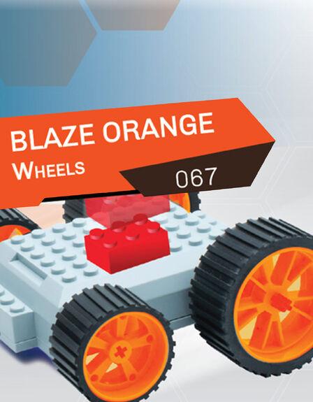 MEEPER - meeperBOT 2.0 Wheel Pack Blaze Orange