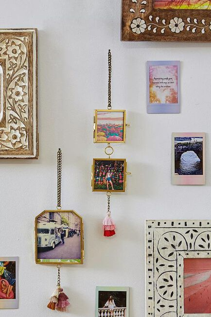 Urban Outfitters - Gold Double Hanging Frames
