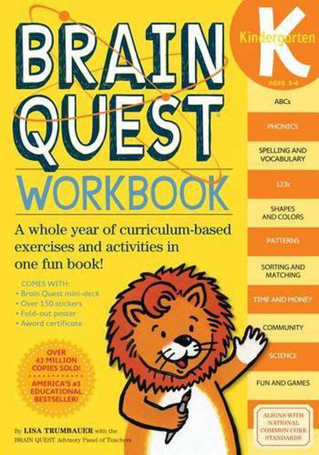 WORKMAN PUBLISHING USA - Brain Quest Workbook Kindergarten