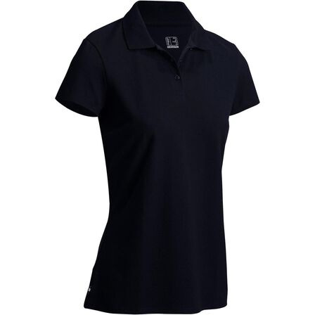INESIS - INESIS-@ULTRA BLACK-POLO FIRST IN LADY BLACK, S