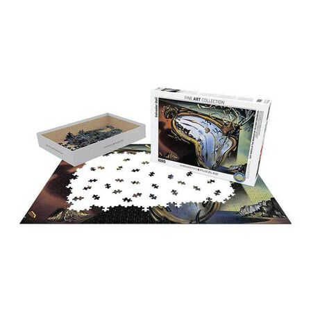 EUROGRAPHICS - Eurographics Soft Watch At Moment of First Explosion Bysalvador Dali 1000Pcs Adult/Unisex Puzzle