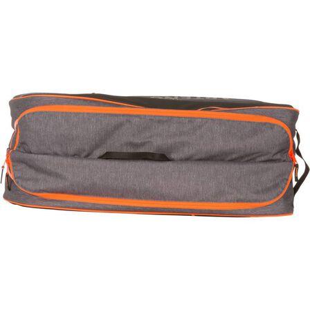 ARTENGO - 500 m racket sports bag - grey/orange, Unique Size