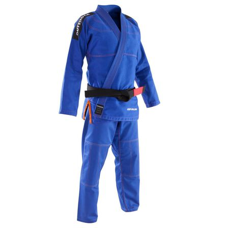 OUTSHOCK - A3 185-195cm  500 Brazilian Jiu-Jitsu Adult Uniform, Light Indigo
