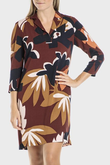 Punt Roma - Leaves dress