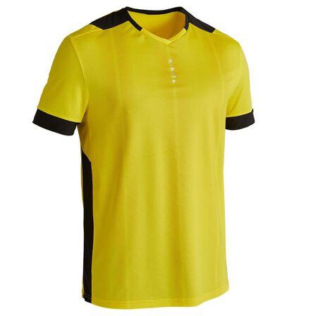KIPSTA - Small  F500 Adult Football Shirt, Sunshine Yellow