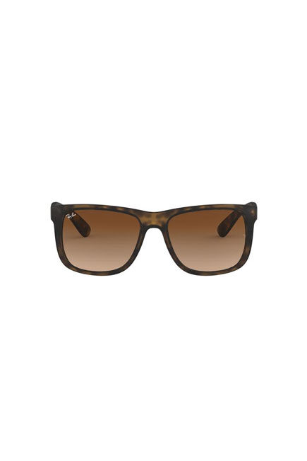 RAY-BAN - Tortoise Square RB4165 JUSTIN CLASSIC