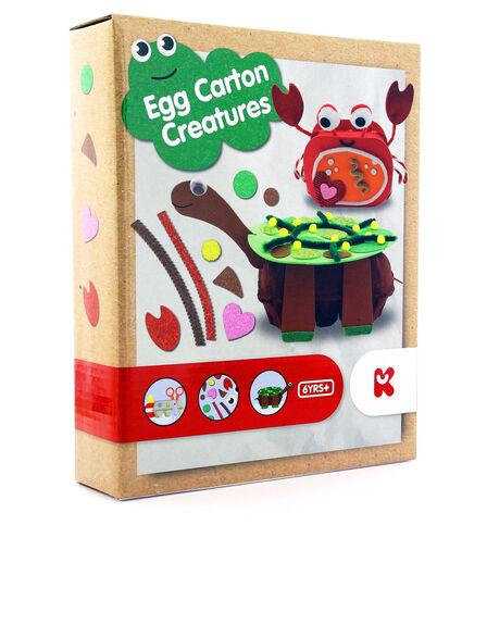 KEYCRAFT - Keycraft Make Your Own Egg Carton Creatures