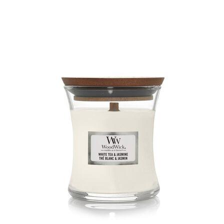 WOOD WICK - Woodwick Candle Hourglass White Tea & Jasmine [Mini]