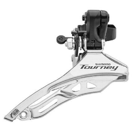 SHIMANO - Unique Size  Front Derailleur 3x7/8 Speeds 28.6 mm Top Pull Clamp On Shimano TY300, Default