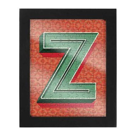 RIDLEYS - Ridleys Alphabet Jigsaw Puzzle with Frame Letter Z